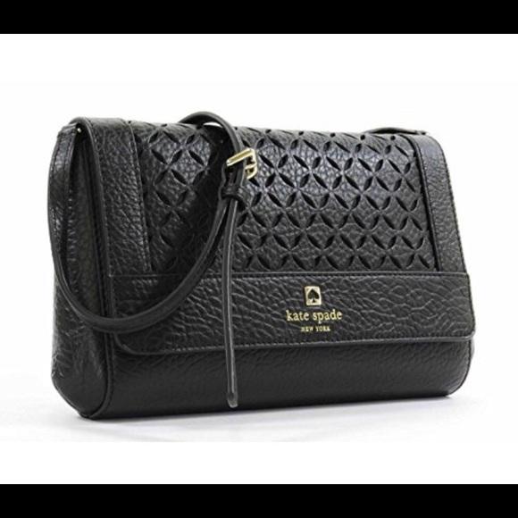 Kate Spade Leather Laser Cut Bag